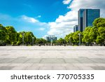city with park   Shutterstock . vector #770705335