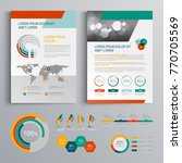 business brochure template... | Shutterstock .eps vector #770705569