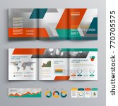 business brochure template... | Shutterstock .eps vector #770705575