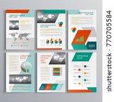 business brochure template... | Shutterstock .eps vector #770705584