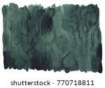 shaded spruce dark green... | Shutterstock . vector #770718811