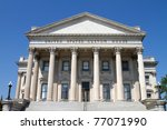 Small photo of United States Custom House in Charleston, South Carolina, built in 1853, is operated by the US General Services Administration and is on the National Register of Historic Places.