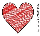 heart love isolated icon