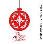 christmas balls background.  | Shutterstock .eps vector #770731267