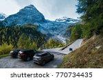 passo dello stelvio  italy  ... | Shutterstock . vector #770734435
