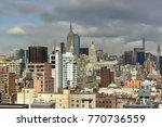 new york city skyline view... | Shutterstock . vector #770736559