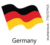 germany flag vector | Shutterstock .eps vector #770737915