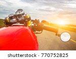 custom vintage motorbike cafe...   Shutterstock . vector #770752825