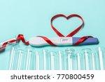 artificial insemination  a...   Shutterstock . vector #770800459