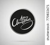Merry Christmas Lettering....