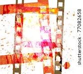 grunge film background   Shutterstock .eps vector #77082658