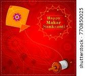 happy makar sankranti religious ...   Shutterstock .eps vector #770850025