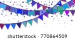 bunting party flags. delightful ... | Shutterstock .eps vector #770864509