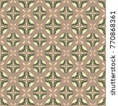 seamless pattern with a... | Shutterstock .eps vector #770868361