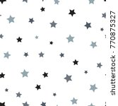 star seamless pattern. white... | Shutterstock .eps vector #770875327