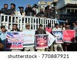 quetta  pakistan   dec 07 ... | Shutterstock . vector #770887921