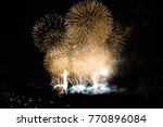 festival of lights  colorful... | Shutterstock . vector #770896084
