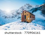 a nice yellow shelter with a...   Shutterstock . vector #770906161