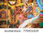 carousel  merry go round  at...