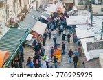 jerusalem  israel   november... | Shutterstock . vector #770925925
