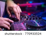 dj remote control | Shutterstock . vector #770933524