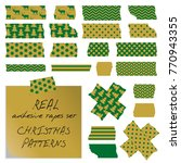 real adhesive tapes set.... | Shutterstock .eps vector #770943355