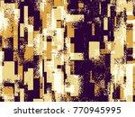 abstract grunge vector... | Shutterstock .eps vector #770945995
