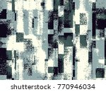 abstract grunge vector... | Shutterstock .eps vector #770946034