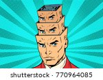 head a maze of personality... | Shutterstock .eps vector #770964085