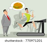 vector illustration of full and ... | Shutterstock .eps vector #770971201