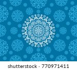 vector illustration of seamless ... | Shutterstock .eps vector #770971411