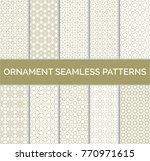 arabic geometric seamless... | Shutterstock .eps vector #770971615