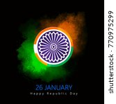 republic day  republic day... | Shutterstock .eps vector #770975299