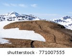 The Hiking Trail On A Top Of...