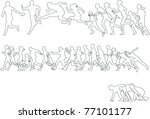run   Shutterstock .eps vector #77101177