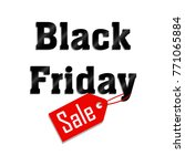 black friday sale | Shutterstock .eps vector #771065884