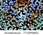 beautiful background with an... | Shutterstock .eps vector #771094801