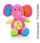 Elephant Plushie Doll Isolated...