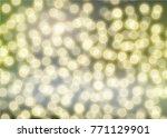 bokeh circle blurred   Shutterstock .eps vector #771129901
