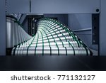 industrial production rollers... | Shutterstock . vector #771132127