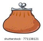 cartoon image of wallet icon....