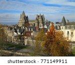 vitre castle  brittany  france | Shutterstock . vector #771149911