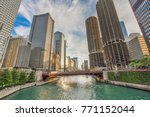 Northern Chicago River...