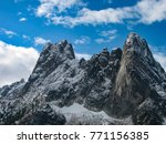 early winters spires  concord... | Shutterstock . vector #771156385