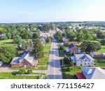 downtown shrewsbury ... | Shutterstock . vector #771156427