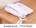 telephone close up   Shutterstock . vector #771176029