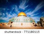 jerusalem  israel   june 4 ... | Shutterstock . vector #771180115