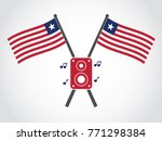 liberia emblem music concert | Shutterstock .eps vector #771298384