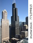 chicago tower  | Shutterstock . vector #771299815