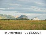 the beautiful scenery of...   Shutterstock . vector #771322024
